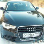 На тест-драйве Audi A6